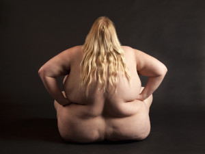 Obese fat woman nude