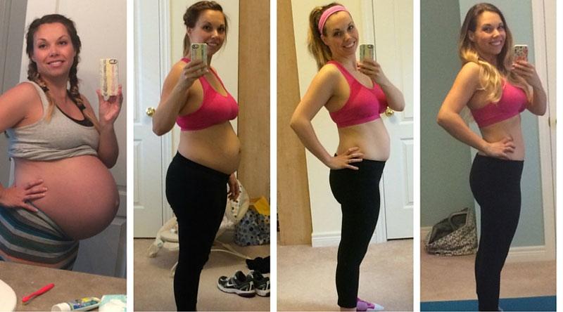 Сбросить вес после рождения ребенка