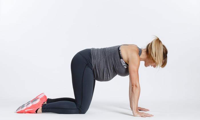 Упражнение для укрепления нижней части живота