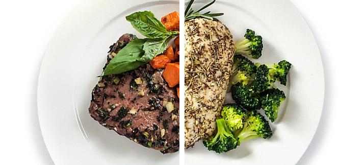 Правильное питание для похудения рецепты на каждый день для девушек