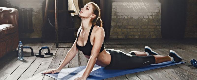 Йога при болях в нижней части спины