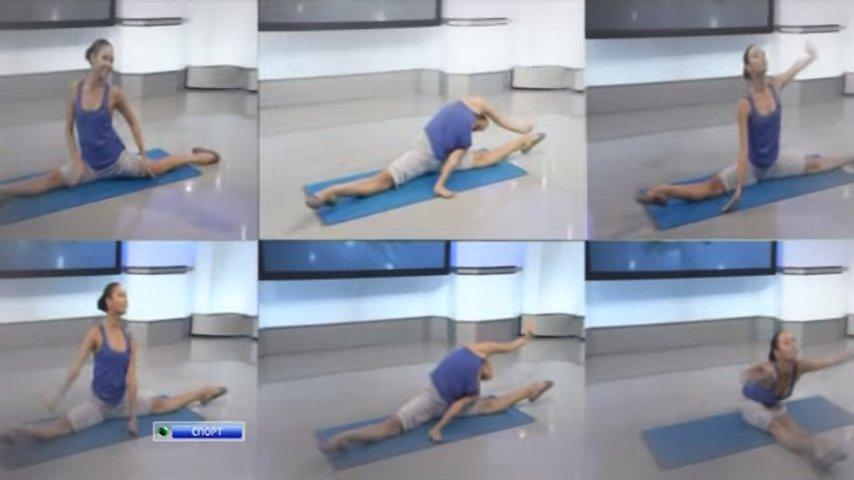 Фитнес упражнения для похудения бедер
