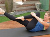 7 движений пилатес для начинающих, желающих усиленно тренироваться