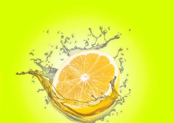 Половина лимона