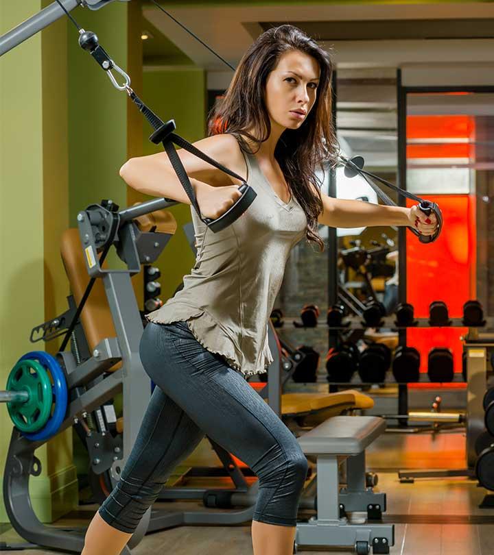 Фитнес упражнения для похудения рук для девушек дома